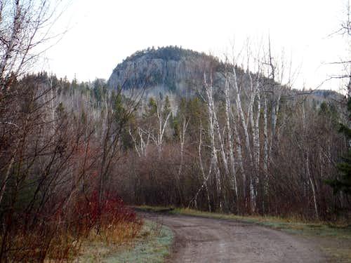 Carlton Peak from Carlton Peak Road