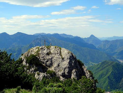 Summit of Mazza di Pichea