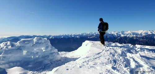 Summit of Monte Stivo