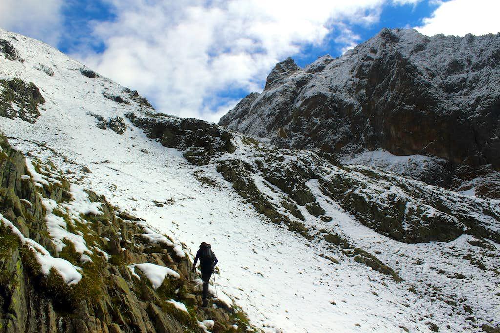 Heading towards the Kuchenjoch.