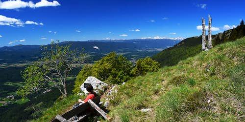 Half way up on Tolsti vrh