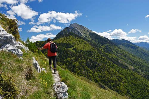 Storzic from below Tolsti vrh