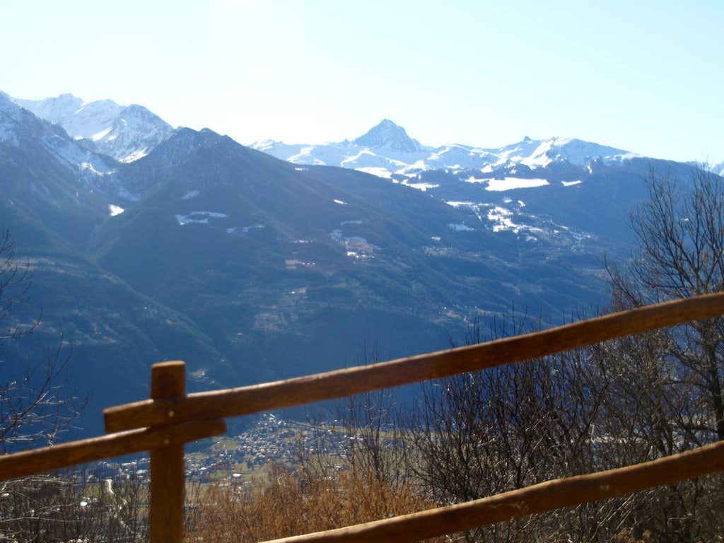 Gorge du Dard below Arbole/Comboé Basins & above Pollein Municipality