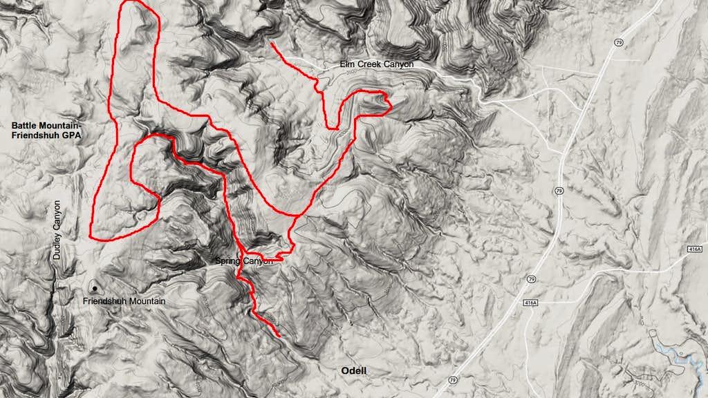 Exploration Route