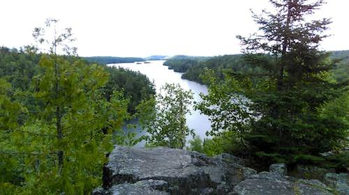 Bearskin Lake Overlook