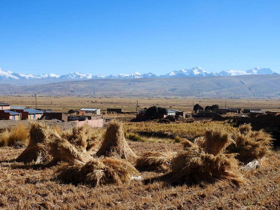 village peñas altiplano cordillère royale