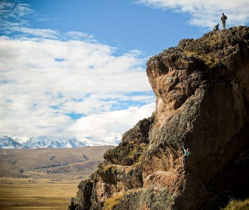 escalada peñas 1