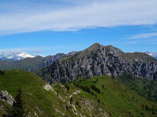 Cime di Pichea e Monte Tofino