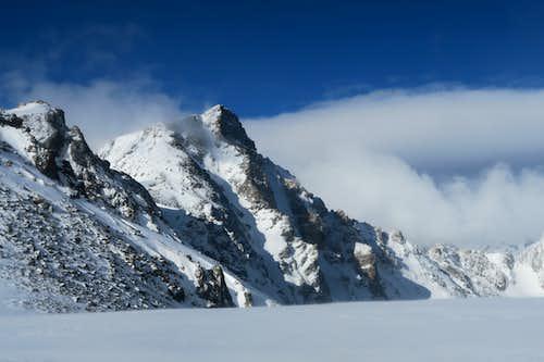 Whitetail Peak via Northeast Ridge in May