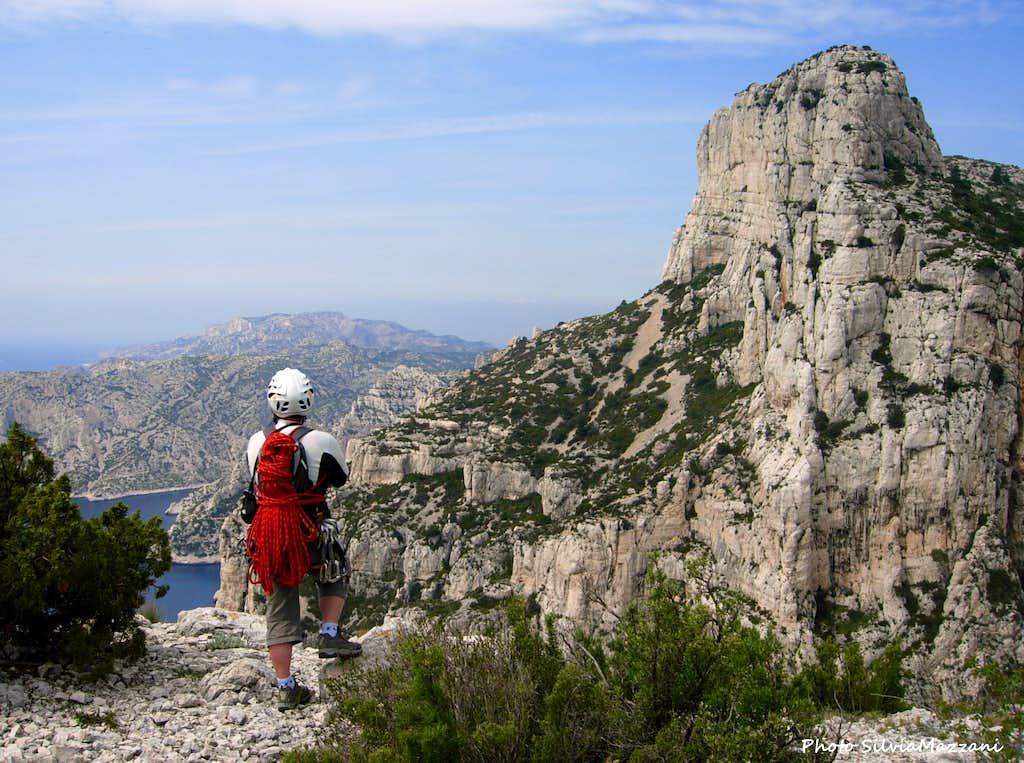 Summit of La Concave