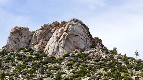 Rockhouse Peak from the SE