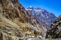 Cycling the Karakoram Highway, Near Sost, Pakistan