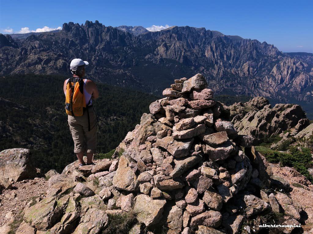 Summit of Calanca Murata, Bavella (Corsica)
