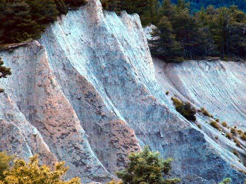 Earth's PYRAMIDS in Aosta Valley