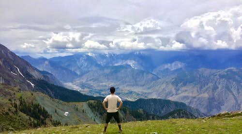 Mountaineering in Hindukush