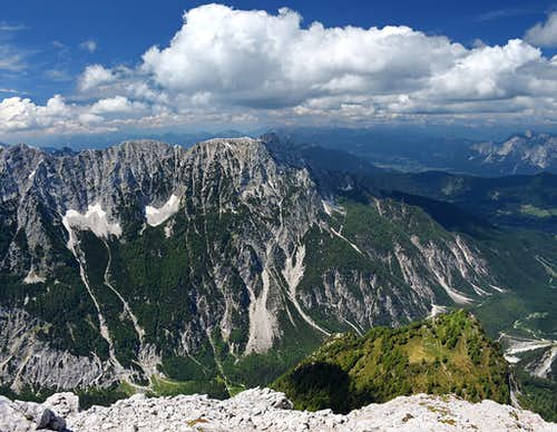 Mala Mojstrovka northern views
