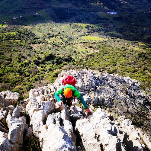 Monsters of the Wind | Climbing the South-West Ridge of Mount Ortholithi