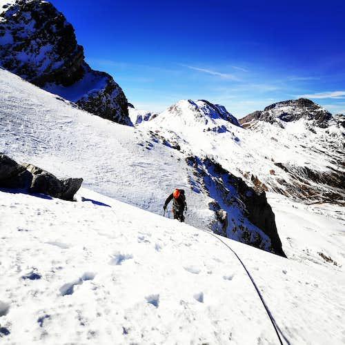 Aris II 2 M2 – 400m. | Mixed and Alpine Climbing in Vardousia Mountain