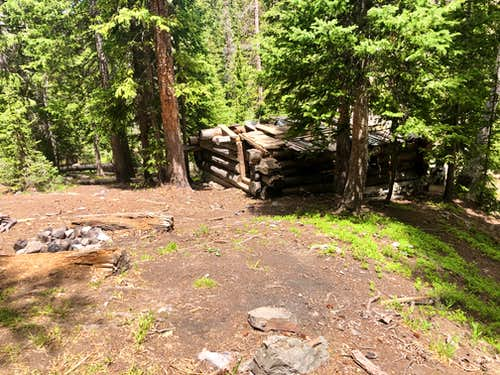 Cabin in Porphyry Basin