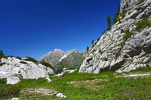 Monte Robon from Sella Nevea (E route)