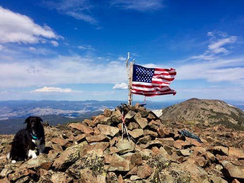 Crow and Elkhorn Peak
