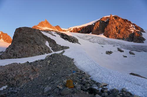 Heading up to Gannett Peak - July 17, 2020