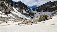 Re-entering the Ticomb Basin via Bonney Pass