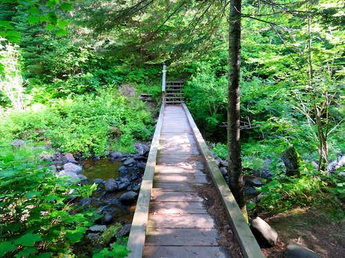Bridge over second creek