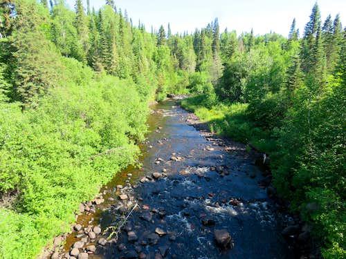 Cascade River from bridge