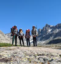 Wind River explorers in July 2020