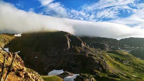 Clouds petting Pettingell