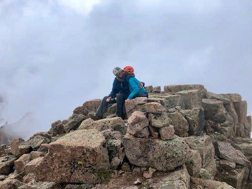 Summit of Animas Mountain