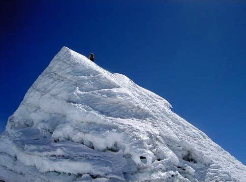Summit pyramid, May 2004