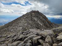 Mt Shavano coming back from Tabeguache Peak
