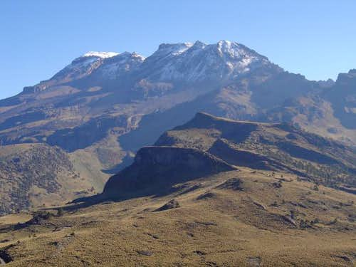 Iztaccihuatl seen from...