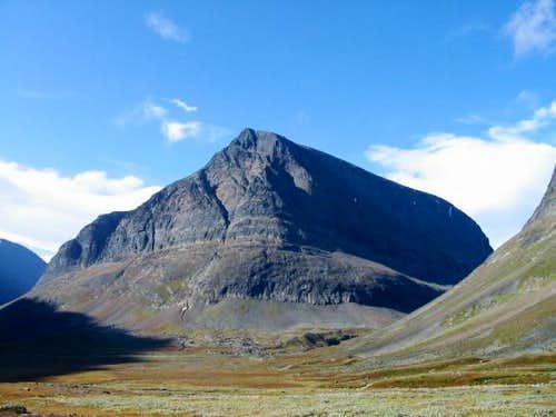 East face of Singitjåkka