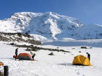Camp on Curtis Ridge with...
