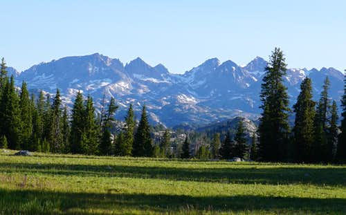 Some of the Wind River Range