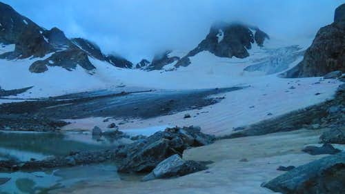 Glacier Trail to Gannet Peak in Style