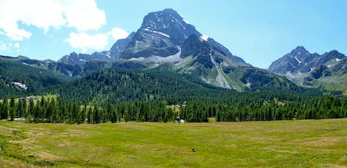 Monte Leone overlooking Alpe Veglia