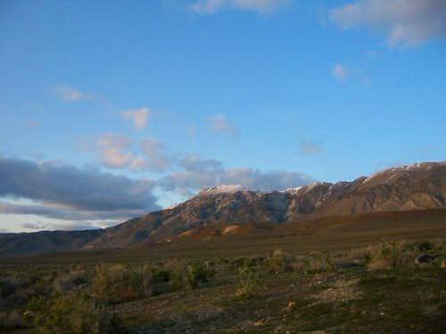 Granite Peak from NV Highway...