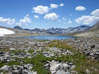 Bishop Pass Pond