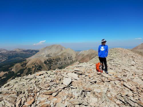 Kessler on the summit of Tukuhnikivatz