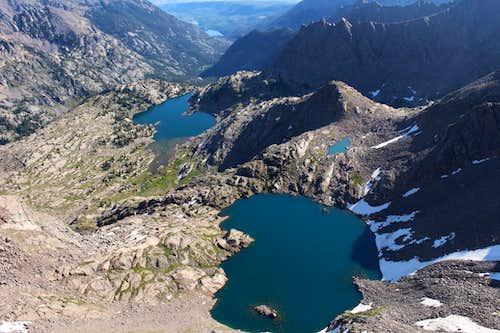 Upper Black Creek Valley - from summit Peak E