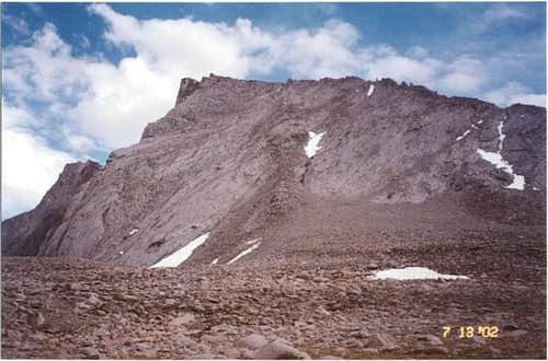 Mt. Tyndall as seen from Just...