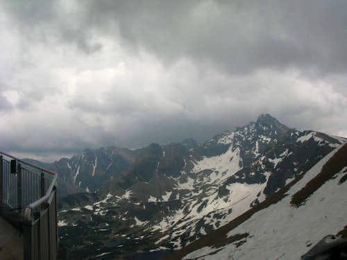 View towards Świnica