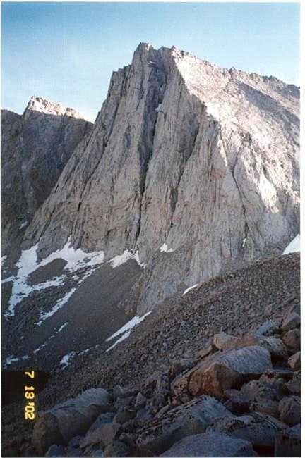 Mt. Tyndall's spectacular...