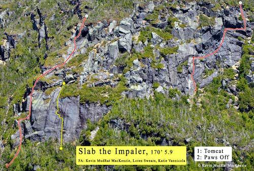 ~slab route line
