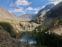 Kit Carson Peak from Willow Lake