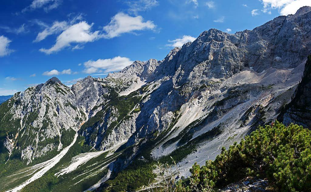 Above Ravenska Kocna valley